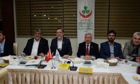 Bursa Gönüllü Kuruluşlar Başkanı Sayın Burhan Sayılgan Başkanlığında zirve Düzenlendi