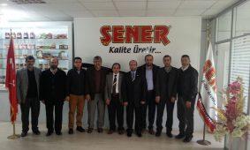 Bursa Perakendeciler Federasyonu Yeni Başkanı Sayın Haşim Kılıç ve Perder üyelerinin tesislerimizi ziyareti.