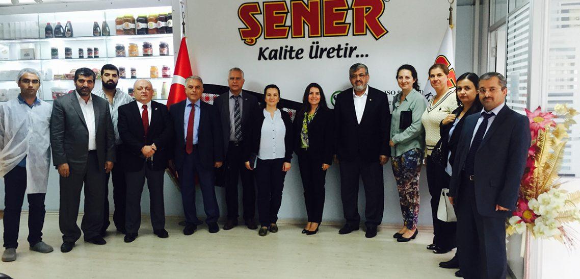 Sanayi Bakanlığı yetkililerinin fabrikamızı ziyareti.