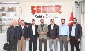 Bursa eski il müftüsü sayın Mehmet Emin Ay Bey fabrikamızı ziyaret etiler.